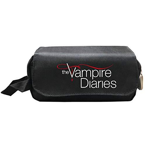 The Vampire Diaries Estuche de lápices Luminoso Estudiantes Niños Niñas Bolsas de Estudiantes Niños Niñas Portalápices Regalo de Regreso a la Escuela Niños GIF 1