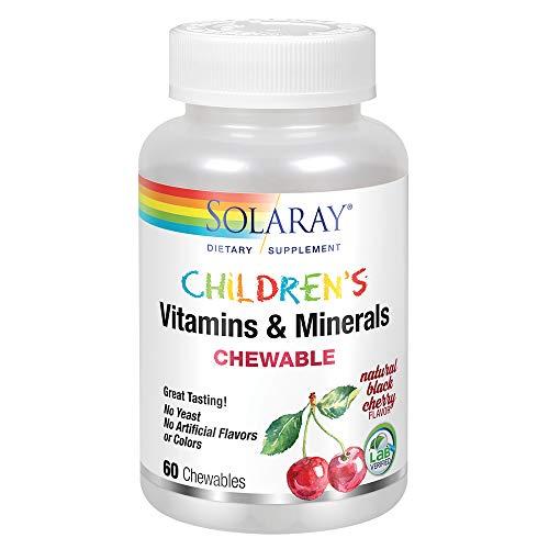Children s Chewable 60 Comprimidos Masticables Solaray