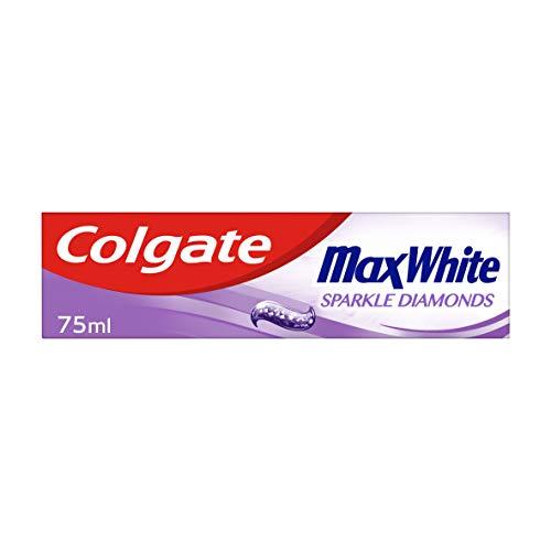 Colgate Max White Sparkle Diamonds Toothpaste 75 ml, Teeth Whitening...
