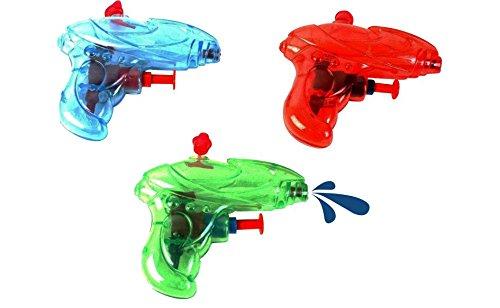3 Pistolets à eau Line 9 cm