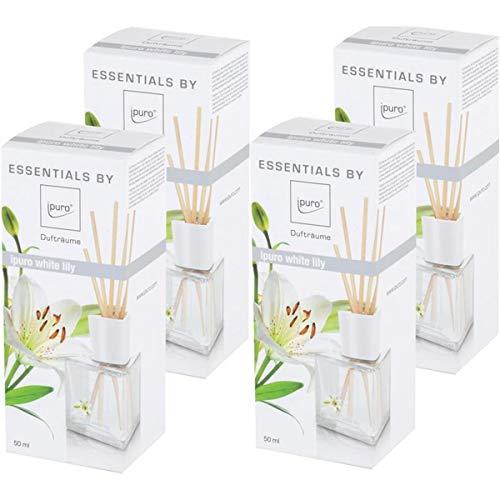 Essentials by Ipuro White lily 50ml Raumduft (4er Pack)