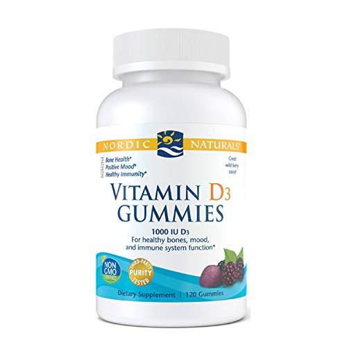 1000 IU Vitamin D3 120 Gummies