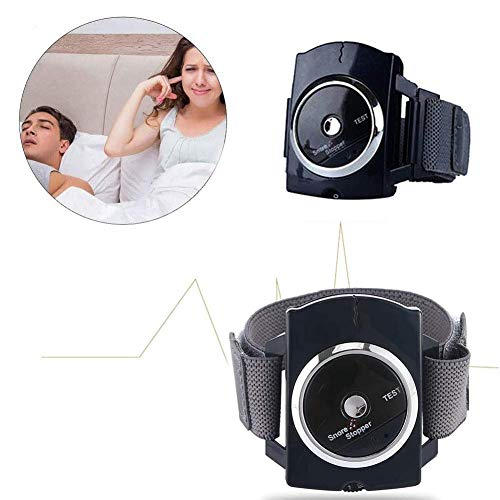 Snore Stopper Stop Snoring Device Connection Dispositivo de Pulsera con Pulsera antirronquidos, Ayuda a Limpiar, cómodo y Conveniente