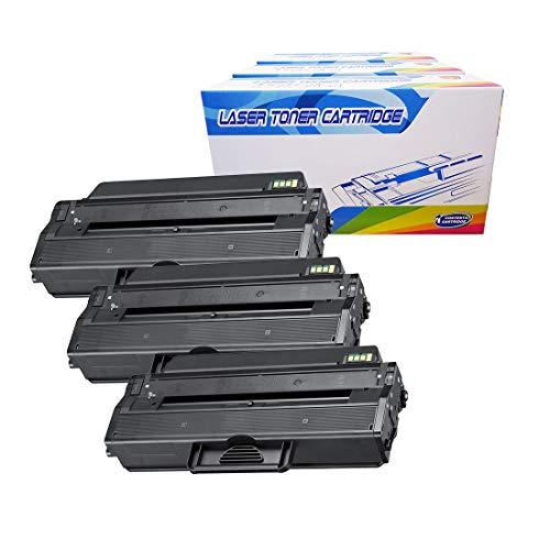 Inktoneram Compatible Toner Cartridges Replacement for Samsung D103L MLT-D103L SCX-4728FD SCX-4729FW SCX-4729FD ML-2951ND ML-2951D ML-2950D ML-2950ND ML-2955ND ML-2955DW (Black, 3-Pack)