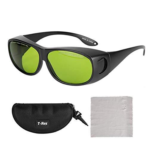 Caiqinlen Gafas Protectoras UV, Conveniente, Elegante, portátil, Estable, protección láser, Gafas Protectoras, científico Electricista para Soldador
