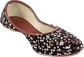 Galaxy Foot Craft Women Sitara Belly-Brown (SN2)