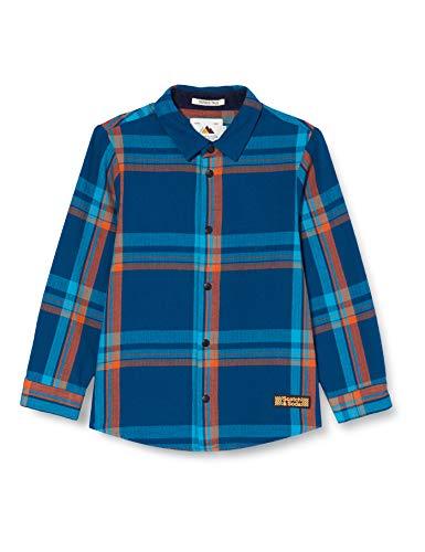 Scotch & Soda Shrunk Boys Karohemd aus Bio-Baumwolle Shirt, Combo A 0217, 10