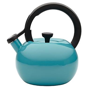 Circulon 2-Quart Circles Teakettle, Capri Turquoise