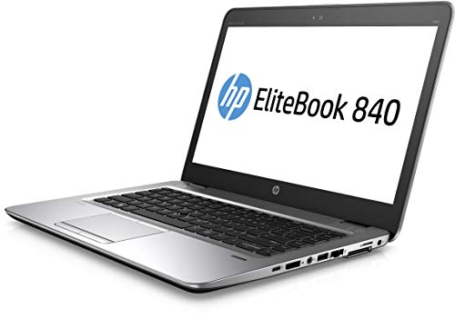HP EliteBook 840 G3 - PC portátil - 14 '' - (Core i5-6200U / 2.30 GHz, 8GB RAM, SSD SSD de 256GB, WiFi, Windows 10, Bluetooth, teclado AZERTY) Modelo muy rápido (Reacondicionado)