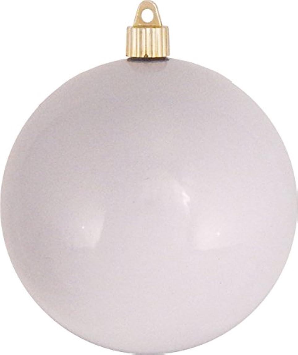 Christmas By Krebs Jumbo Commercial Shatterproof UV Resistant Plastic Christmas Ball Ornaments Case Bulk Pack, 4.75