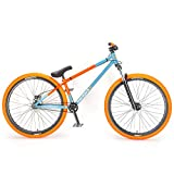 "Mafiabikes Blackjack D 26"" BMX Jump Bike Wheelie Bike Grey/Orange"