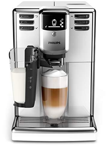 Philips 5000 Serie EP5331/10 Kaffeevollautomat, 6 Kaffeespezialitäten (LatteGo Milchsystem) Weiß