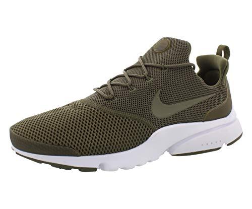 Nike Presto Fly Mens Running Trainers 908019 Sneakers Shoes (UK 8 US 9 EU 42.5, Medium Olive 201)