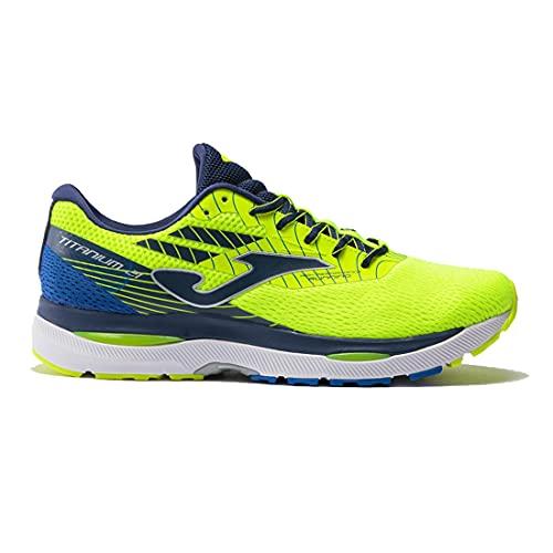 Joma Serie Titanium, Zapatillas de Atletismo Hombre, Amarillo Fluor, 42 EU