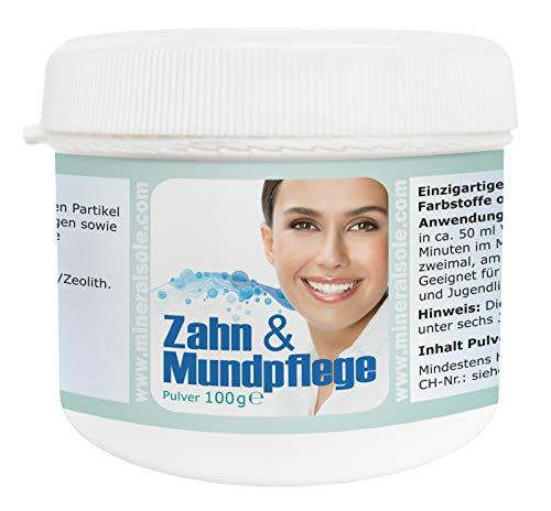 Zahn & Mundpflege mit Zistrose und Bacillus Subtilis DSM 21097 I 100 g Pulver