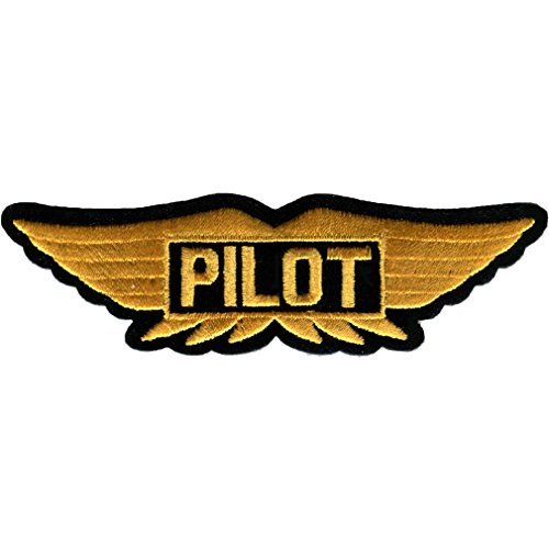 Pilot Wings Embroidered Patch