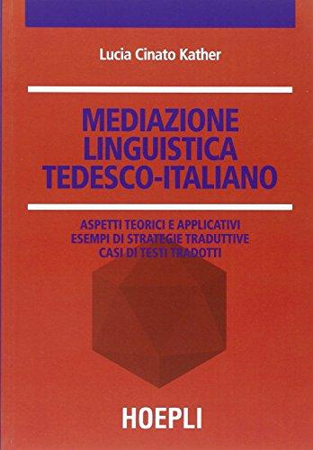 Mediazione linguistica. Tedesco-italiano