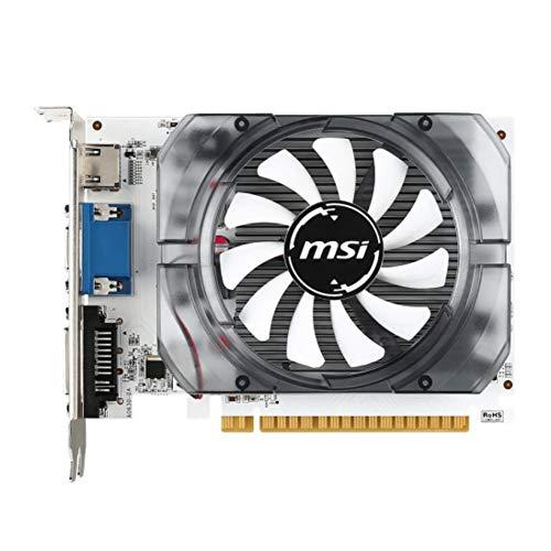 Balai für NVIDIA GeForce GT730 Gaming-Grafikkarte, für MSI (MSI) 730 2gd3 Hurricane Desktop-Computerspiel Diskrete Grafik, Grafikkarte mit einem Lüfter und niedrigem Profil