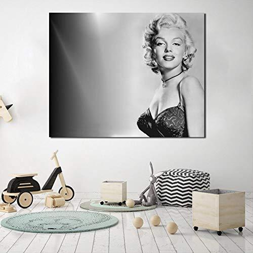 YuanMinglu Klassische Retro Poster leinwand malerei Druck Wohnzimmer Dekoration Moderne ölgemälde wandkunst Salon Bild rahmenlose malerei 24x30 cm