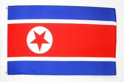 AZ FLAG Flagge NORDKOREA 150x90cm - NORDKOREANISCHE Fahne 90 x 150 cm - flaggen Top Qualität