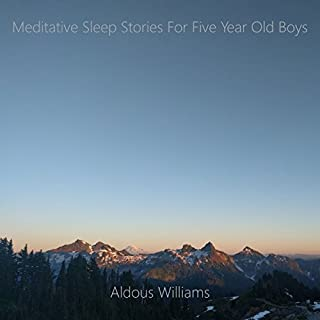 Meditative Sleep Stories for Five Year Old Boys cover art