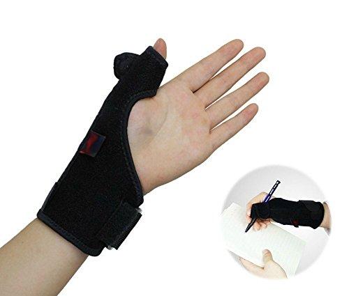 Daumenorthese Bandage Handgelenk für den täglichen Gebrauch und zur Stabilisierung der Hand bei z.B. Karpaltunnelsyndrom, Sehnenscheidenentzündung, Verstauchung - geeignet für Männer und Frauen