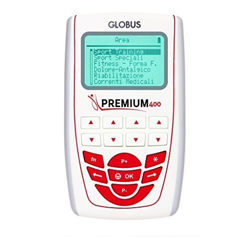 Globus Premium 400 - 4 channels electrostimulator by Globus