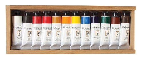 Jack Richeson 37-Ml Artist Oil Colors, Set of 12