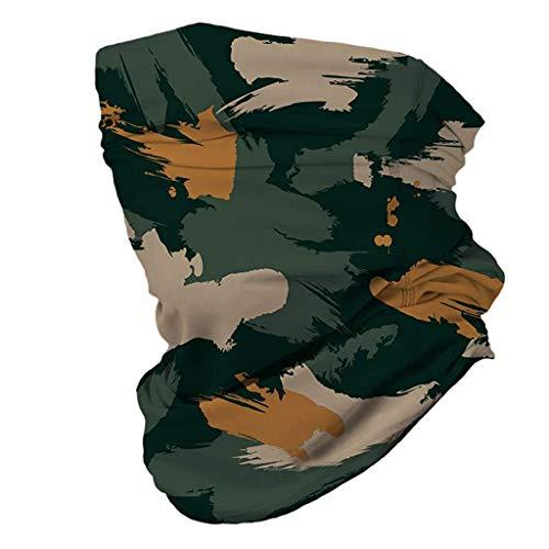 PPangUDing Multifunktionstuch Schlauchschal Unisex Mundschutz Outdoor Winddicht Kopf Wrap Halstuch Schal Face-Shield Outdoor Winddicht Atmungsakti Tuch Halstuch Gesichtstuch