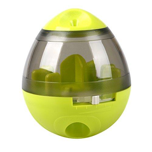 Ewolee Hundespielzeug Ball, Tumbler Spielzeug Haustierfutter Spielzeug Ball ungiftig Bite resistent Spielzeug Ball Intelligentere Interaktive IQ-Behandlung-Kugel Langlebiger Hundespielball - 7