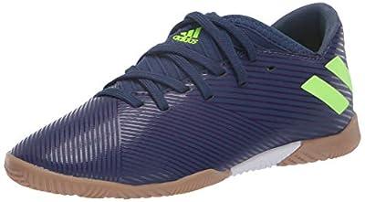 adidas Unisex Nemeziz Messi 19.3 IN Sneaker, Indigo/Green/Purple, 6 M US Little Kid