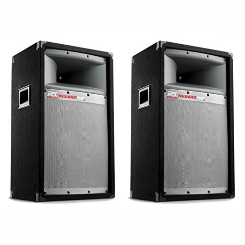 """MTX 2-Pack Thunder Pro2 10"""" 2-Way 200W Full-Range Loudspeakers   2 x TP1100"""