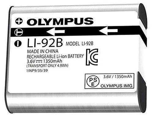 Olympus LI-92B - Batería recargable de ión-litio para cámaras Tough!, color gris
