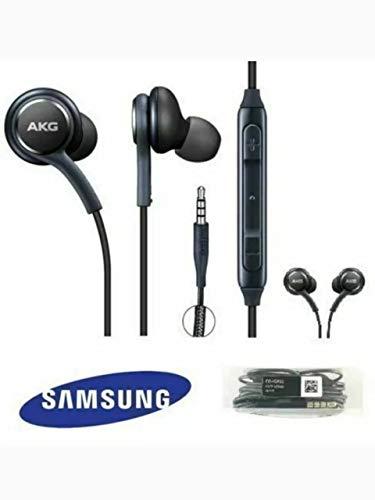 AKG - Auricolari in-ear per Galaxy S8, S9, S10, Note 8, Note 9 e S10 Plus, colore: Nero