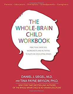 The Whole-Brain Child Workbook: Practical Exercises, Worksheets and Activities to Nurture Developing Minds by Daniel J Siegel Tina Payne Bryson(2015-06-01)