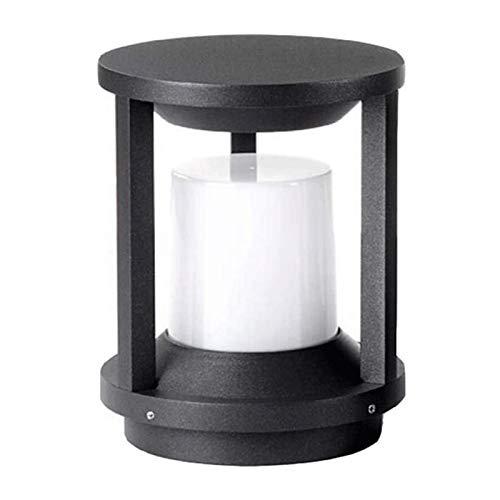 Al aire libre Faros de columna a prueba de agua, cerca del jardín luces del paisaje, moderno minimalista llevó Parque borde de la carretera las luces de la lámpara del pilar Hierba