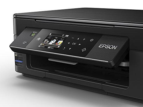Epson Expression Home XP-442 - Impresora compacta multifunción (WiFi, inyección de Tinta, 1200 x 2400 dpi), Color Negro, Ya Disponible en Amazon Dash Replenishment