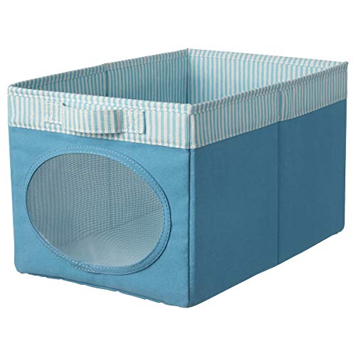 IKEA NÖJSAM doos blauw