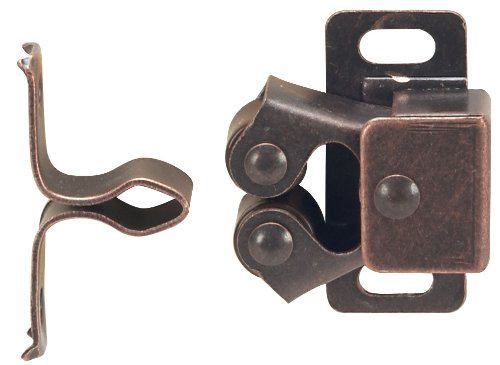 Hardware House 64-4567 Contractor Pack Roller Catch, Brown, 10-Pack
