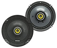 Features EVC technology for improved woofer performance Includes 2 6.5-inch coaxial speakers with 0.5-inch tweeters for rich sound detail Neodymium tweeter magnets let you ramp up the volume at high frequencies UV-treated polyester woofer surround re...