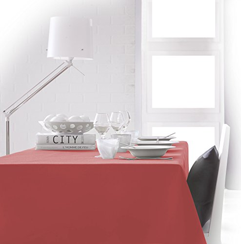 Today Nappe 150/250 Corail Nappe 150/250 Polyester 150 x 250 cm