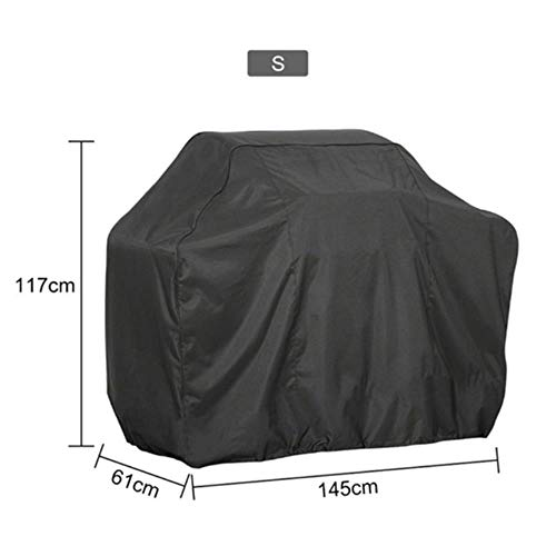 Jun 1PC BBQ Cover Outdoor Dust Waterproof Weber Heavy Duty Charbroil Grill Cover Rain Protective Outdoor Barbecue Cover,8YY801763-5