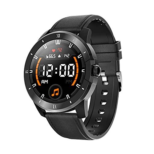 Gulu MX12 Relojes Inteligentes Reproductor De Música Bluetooth Llamada Reloj Ritmo Cardíaco Reloj De Alarma Deportes Pulsera Inteligente Impermeable Smartwatch,E