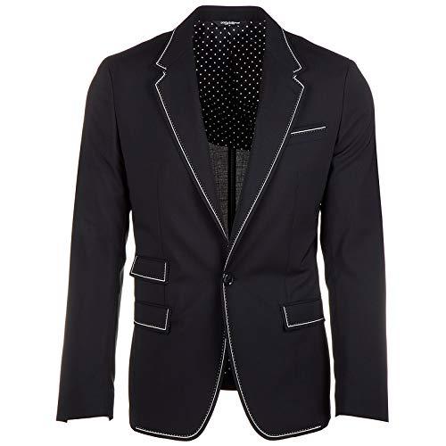 Dolce&Gabbana Wolljacke Herren Herrenjacke Jacke Wolle Blazer Schwarz EU 46 (UK 36) G2JZ4T FUBBG N0000