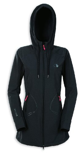 Tatonka Damen 2 Lagen Softshell Mantel Manama, black, 44, A119