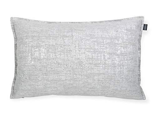 Antilo - Funda de cojín Arine 50x30 Cm - Color Gris (Decoración para la Cama o el sofá, complemento Ideal para Dormitorio y salón de diseño Moderno)