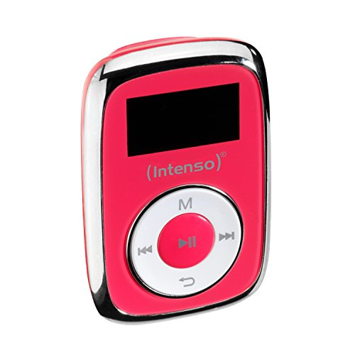 Intenso Music Mover MP3 8GB - Reproductor MP3 (Reproductor de MP3, 8 GB, LCD, USB 2.0, Rosa, Auriculares incluidos)
