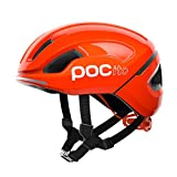 POC POCito Omne SPIN Casco Ciclismo Unisex Adulto, Naranja Fluorescent Orange, XSM
