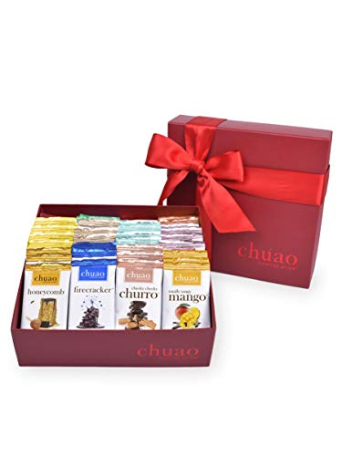 Chuao Chocolatier Share the Love Assorted Mini Gourmet Chocolate Bars...