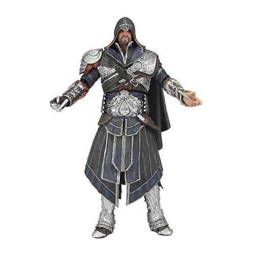 Neca Assassin's Creed - Figura decorativa (17 cm), diseño de Ezio Onyx